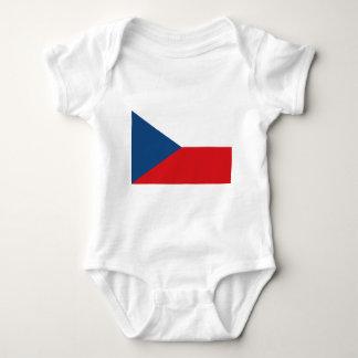 Flag_of_the_Czech_Republic Baby Bodysuit