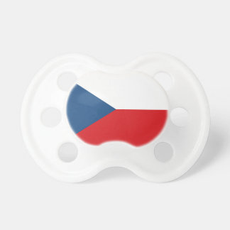 Flag_of_the_Czech_Republic Baby Pacifier
