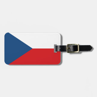 Flag of the Czech Republic Easy ID Personal Luggage Tag