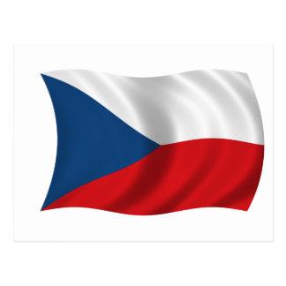 Flag of the Czech Republic Postcard