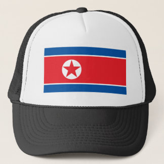 Flag of the Democratic People's Republic of Korea Trucker Hat