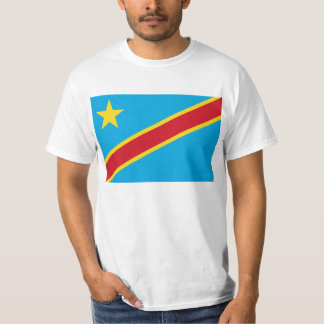 Flag of the Democratic Republic of Congo T Shirt