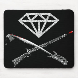 "Flag of the ""Diamond's Rule"" Mouse Pad"