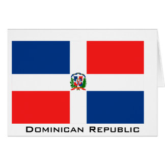 Flag of the Dominican Republic Greeting Card