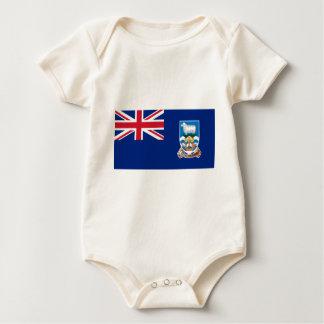 Flag of the Falkland Islands - Union Jack Baby Bodysuit
