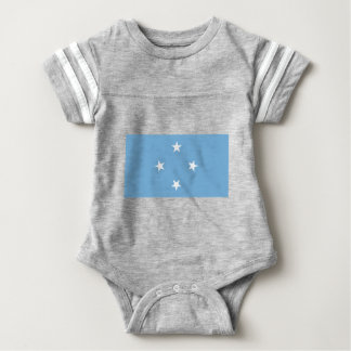 Flag of the Federated States of Micronesia Baby Bodysuit
