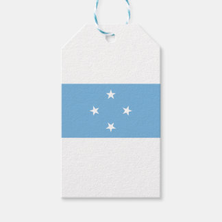 Flag of the Federated States of Micronesia Gift Tags