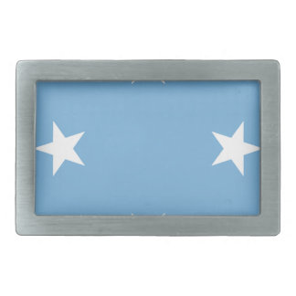 Flag of the Federated States of Micronesia Rectangular Belt Buckle
