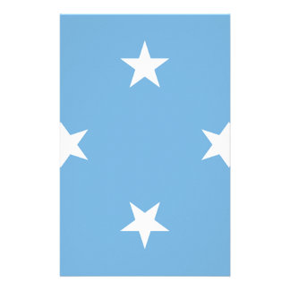 Flag of the Federated States of Micronesia Stationery