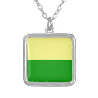 Flag of The Hague Silver Plated Necklace