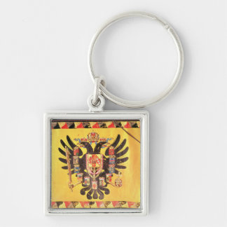 Flag of the Imperial Habsburg Dynasty, c.1700 Key Chain