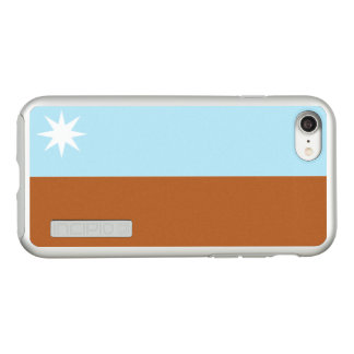 Flag of the Murrawarri Republic Silver iPhone Case