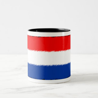 Flag of the Netherlands Two-Tone Coffee Mug