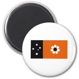Flag of the Northern Territory 6 Cm Round Magnet