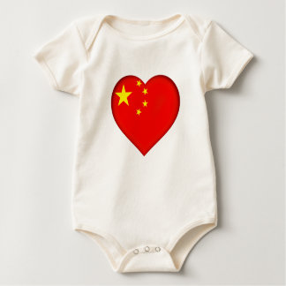 Flag of the People's Republic China Baby Bodysuit
