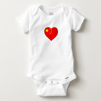 Flag of the People's Republic China Baby Onesie