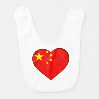 Flag of the People's Republic China Bib