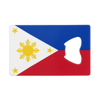 Flag of the Philippines Credit Card Bottle Opener