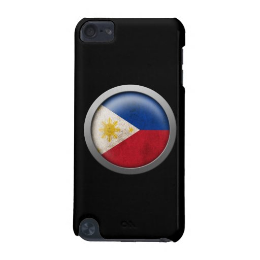 Flag of The Philippines Disc iPod Touch 5G Cover