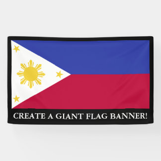 Flag of the Phillipines Banner