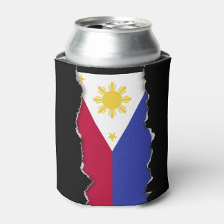 Flag of the Phillipines Can Cooler