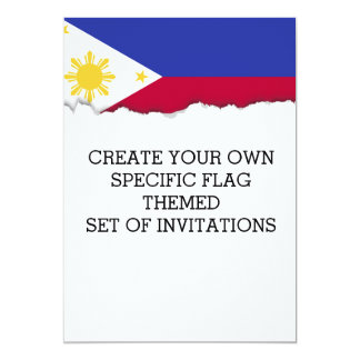 Flag of the Phillipines Card