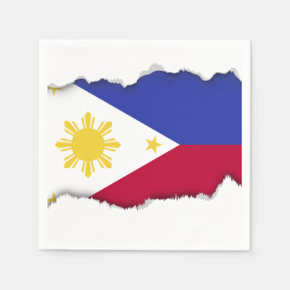 Flag of the Phillipines Disposable Napkin