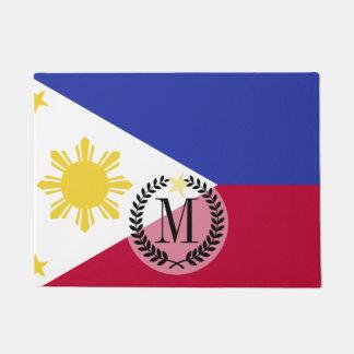 Flag of the Phillipines Doormat