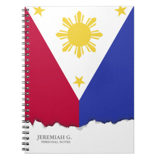 Flag of the Phillipines Notebook