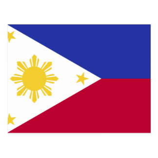 Flag of the Phillipines Postcard