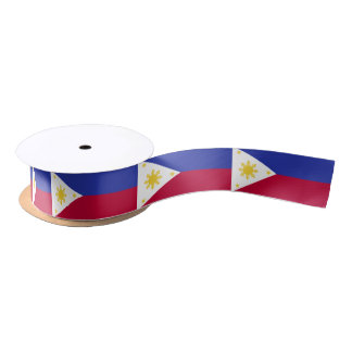Flag of the Phillipines Satin Ribbon