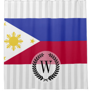 Flag of the Phillipines Shower Curtain
