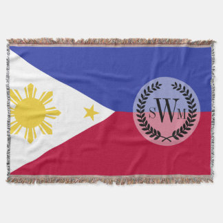 Flag of the Phillipines Throw Blanket