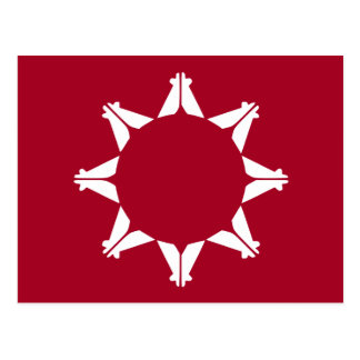 Flag of the Republic of Lakotah Postcard