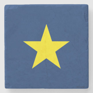 Flag of the Republic of Texas Stone Coaster