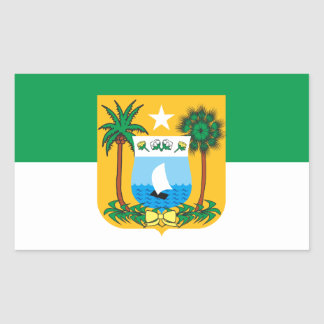 Flag of the Rio Grande of the Brazil North Rectangular Sticker