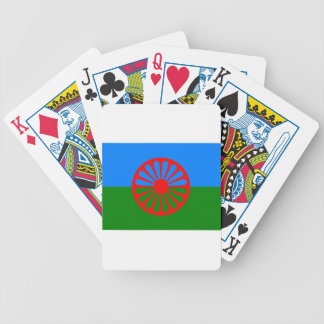 Flag of the Romani people - Romani flag Bicycle Playing Cards
