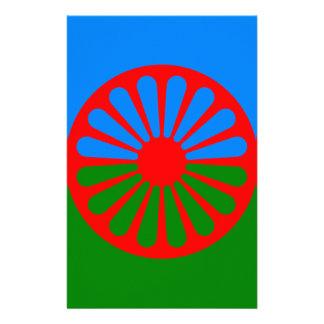 Flag of the Romani people - Romani flag Stationery