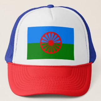 Flag of the Romani people - Romani flag Trucker Hat