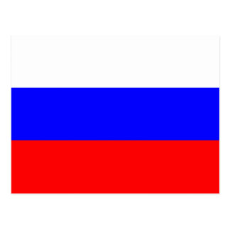 Flag of the Russian Federation - Флаг России Postcard