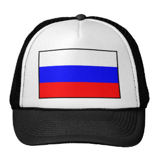 Flag of the Russian Federation Trucker Hat