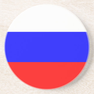Flag of the Russian Federation Beverage Coasters
