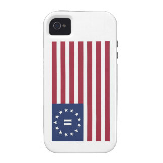 Flag  of the Second American Revolution iPhone 4/4S Covers