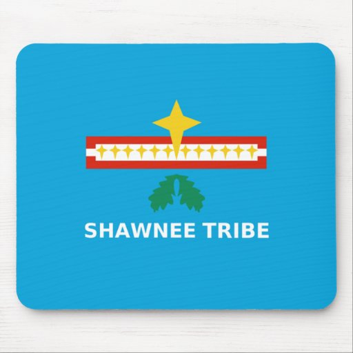 Flag of The Shawnee Tribe Mouse Pad