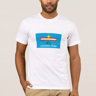 Flag of The Shawnee Tribe of Oklahoma T-Shirt