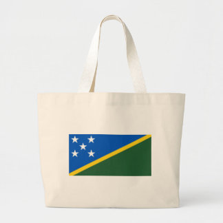 Flag_of_the_Solomon_Islands Large Tote Bag