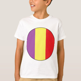 Flag of the Spanish Republic - Bandera Tricolor T-Shirt