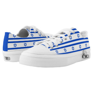 Flag of the State of Israel Low Tops