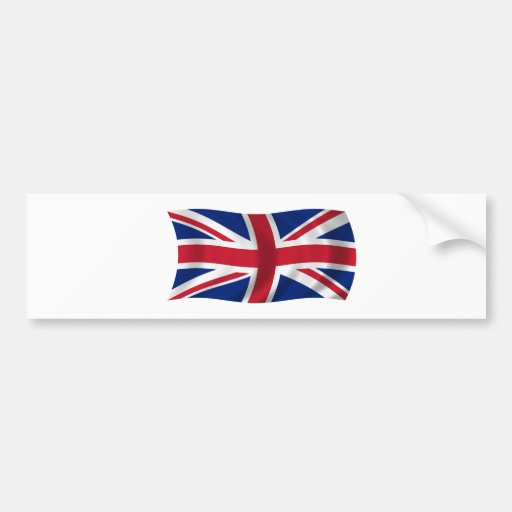 Flag of the United Kingdom Bumper Sticker