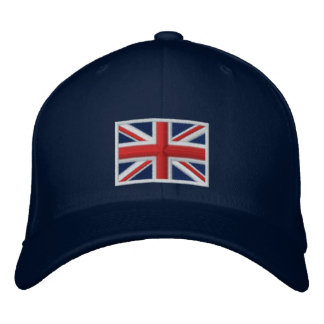 Flag of the United Kingdom Embroidered Hat